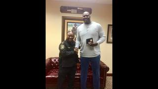 Shaq is now a sheriff