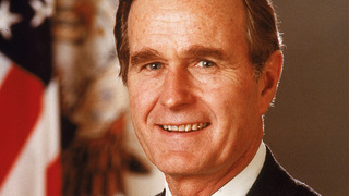 George H.W. Bush, Barbara Bush remain in hospital, but improving