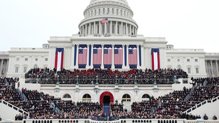 MINUTE-BY-MINUTE: Live updates on swearing-in, speech, parade, protests