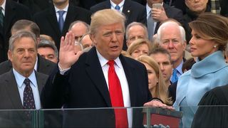 Donald Trump Sworn In As President of The United States of America