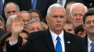 Mike Pence Sworn In As Vice President of The United States of America