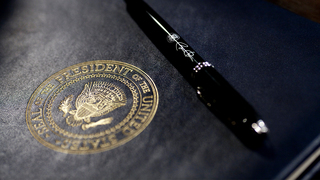What is an executive order, and is Donald Trump signing one today?