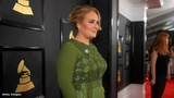 Joy Villa turns heads at Grammys with Trump-inspired