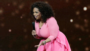 Oprah Winfrey on stage during her An Evening With Oprah tour on December 12, 2015 in Sydney, Australia.