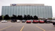 DEARBORN, MI - JULY 23: The Ford Motor Company world headquarters is shown July 23, 2009 in Dearborn, Michigan. Ford reported $2.3 billion quarterly earnings today.