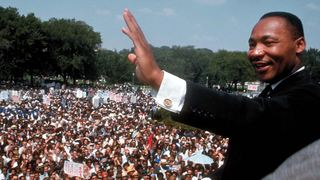 Rare video shows MLK predict African-American president