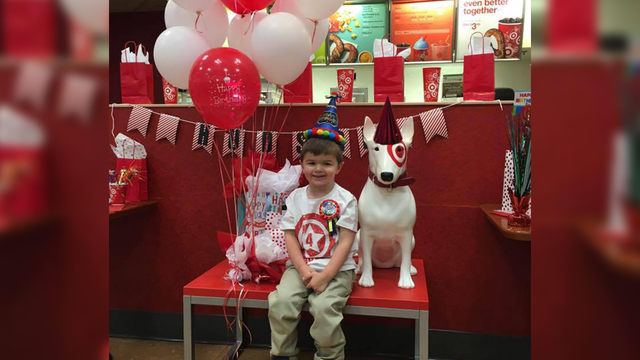 Boy who loves Target has birthday party at store Boston 25 News