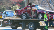 A lethal pile-up on Lawrenceville Highway caused delays nearby Jimmy Carter Boulevard.