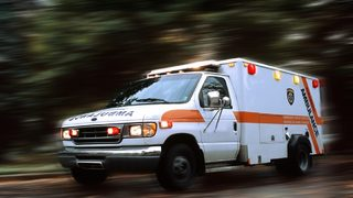 83-year old allegedly steals ambulance, drives home