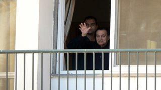 Former Egyptian president Mubarak set free
