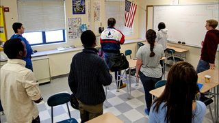 Chicago teacher fired for telling student to stand for Pledge of Allegiance