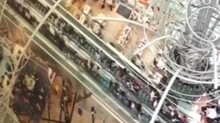 Terrifying video captures sudden escalator reversalthat injured 18