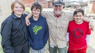 Texas: Quick-thinking Boy Scouts save man