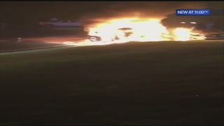 Good Samaritans pull woman, children from burning vehicle