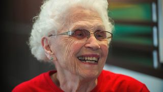 Woman, 94, celebrates 44 years of work at McDonald