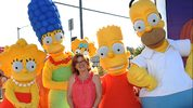 Actress Nancy Cartwright and The Simpsons attend Fox Hosts
