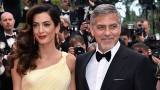 George Clooney talks about helping Amal with her pregnancy, potential names