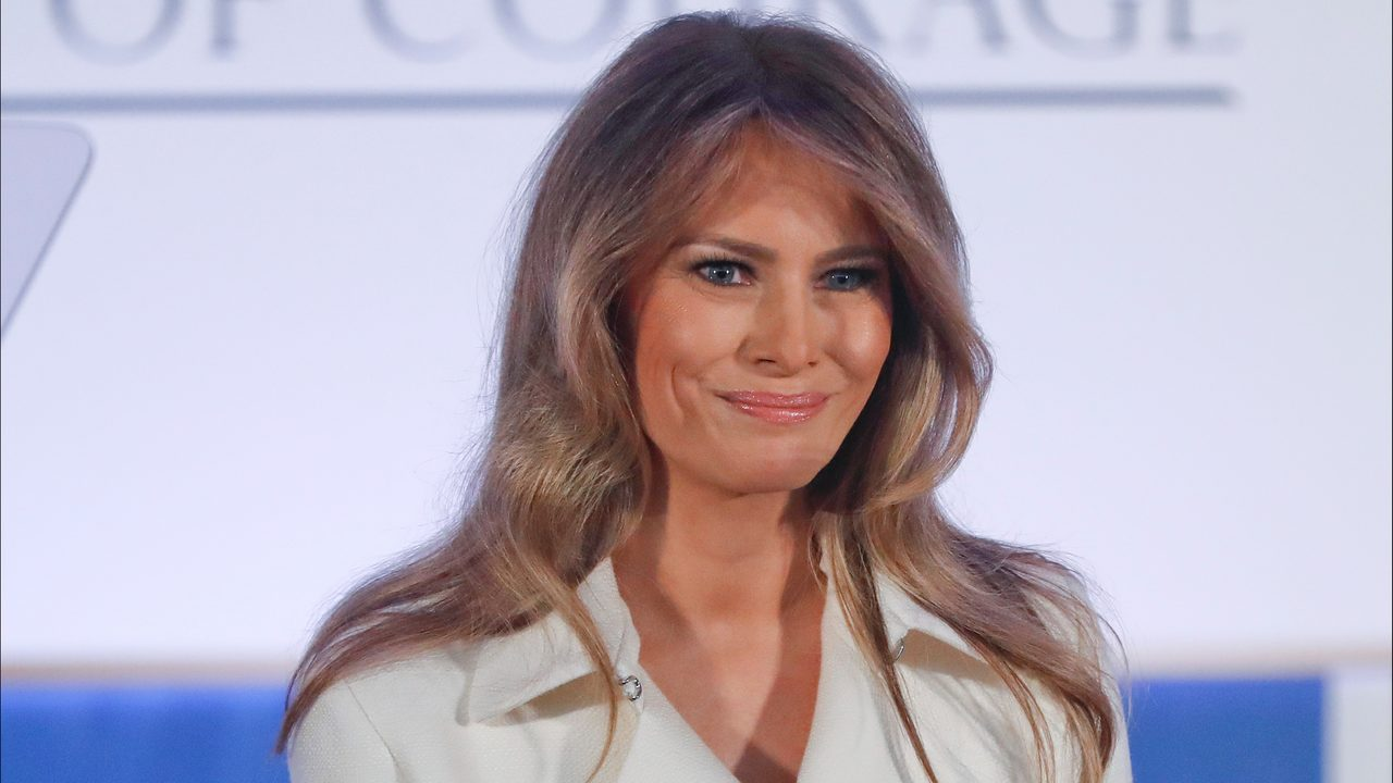 First lady Melania Trumpwho has been distant from President Donald Trump since reports surfaced that the presidents lawyer paid off a porn star to