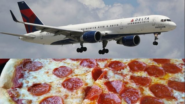 delta buys pizza for passengers after canceling 300 flights due to atlanta weather kiro tv. Black Bedroom Furniture Sets. Home Design Ideas