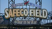 SEATTLE, WA - APRIL 25: A general view of the Safeco Field scoreboard sign during a game between the Seattle Mariners and the Minnesota Twins on April 25, 2015 in Seattle, Washington. The Twins defeated the Mariners 8-5.