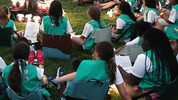 Girl Scouts (WHITE HOUSE POOL (ISP POOL IMAGE/Corbis/VCG via Getty Images)