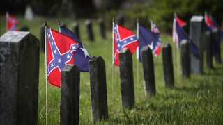 Protests, pride on display for Confederate Memorial Day