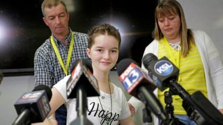 14-year-old recovers, smiles 2 months after being shot in head