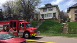 Firefighters in Sioux Falls, South Dakota, were called on Sunday, April 23, 2017, to a structure fire on North Spring Avenue.