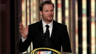 Dale Earnhardt Jr. crashes into tree after helping car stuck in snow
