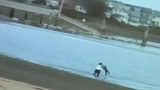 VIDEO: Man Tossing Child Into Frigid Waters Off Boston