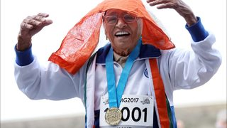 101-year-old woman wins 100-meter dash at World Masters Games