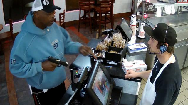 video of jimmy john u2019s worker u0026 39 s calm reaction to armed