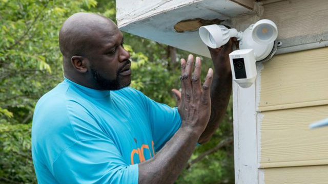 Why shaquille o 39 neal is installing home security systems Home security monitoring atlanta