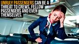 How Airline Crews Deals with Unruly Passengers – and What You Should Do