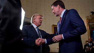 Trump told Russian officials firing