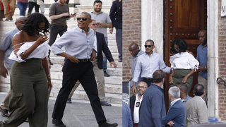 Obamas vacation in Italy; Michelle