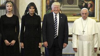 Photos: Trumps meet Pope Francis at Vatican