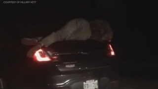 Unbelievable Raw Video - Couple Drive 14 Miles on Interstate with Drunk…
