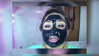 Doctor: Popular charcoal masks could cause permanent skin damage