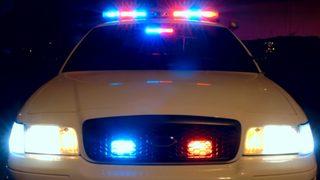 Woman uninjured after car plunges off parking deck