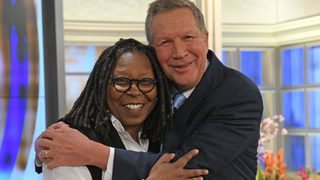 John Kasich shows off pop culture savvy on 'The View