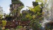 In this handout photo provided by Disney Resorts, a view of the new Pandora: World of Avatar attraction inside Disneys Animal Kingdom during the dedication ceremony on May 24, 2017. (Photo by Steven Diaz/Disney Resorts via Getty Images)