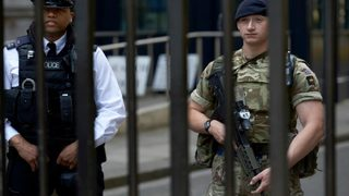 UK lowers security level from 'critical