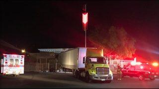 Man crashes truck into Nevada brothel