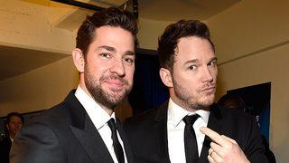 Actors Chris Pratt and John Krasinski commemorate Memorial Day by…