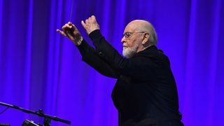 John Williams serenaded with his biggest hits, a cappella style during…