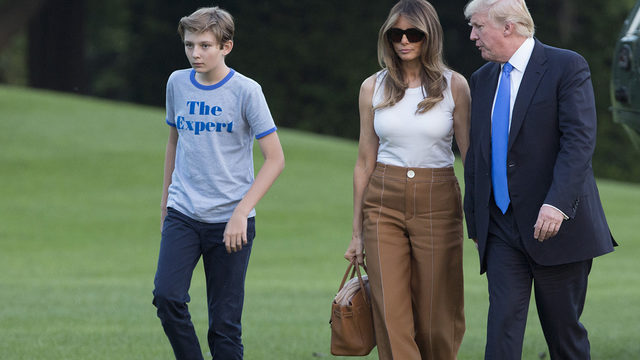 Image result for barron trump expert shirt