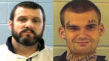 Inmates accused of killing corrections officers on the run