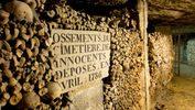 France, Paris, the Catacombs, bones. MATTES René/Getty Images/Hemis.fr RM