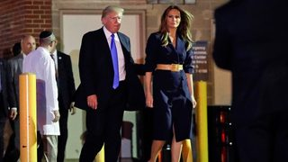 Trump, first lady make surprise visit to hospital where Scalise being treated